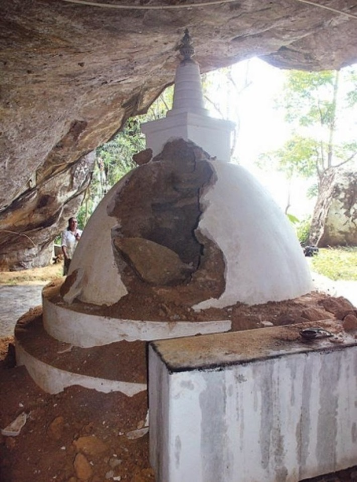 Sri Lanka's damaged heritage | The Archaeology News Network | Kiosque du monde : Asie | Scoop.it
