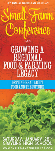 Northern Michigan Small Farm Conference | Local Economy in Action | Scoop.it