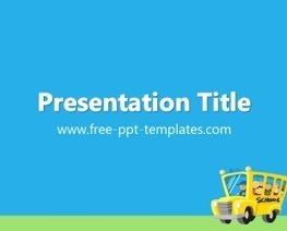 School PowerPoint Template | Educational PowerPoint Templates | Scoop.it
