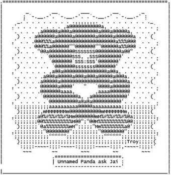 Bear - Jai | ASCII Art | Scoop.it