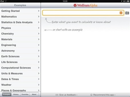 WolframAlpha: The Answer To All Your Questions - web tool or app | iGeneration - 21st Century Education | Scoop.it
