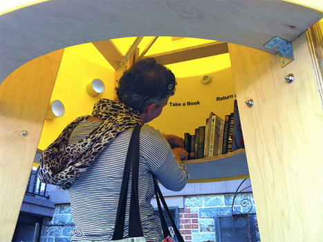 The Free Little Library by Stereotank | Colossal | O.B.N.I | Scoop.it