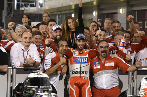 Ducati Team Qatar Race Weekend Photo Gallery | Ductalk Ducati News | Scoop.it