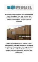 Mobil Container Solutions modified shipping containers | container doors | Scoop.it