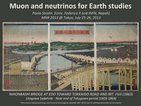 Muon and Neutrinos for Earth studies | 科学と学校 | Scoop.it