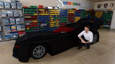 An artist built a life-sized Batmobile using 500000 LEGOs - BGR | Heron | Scoop.it