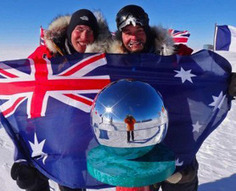 Two Aussies Reach South Pole Unaided : Discovery News | e-Expeditions News | Scoop.it