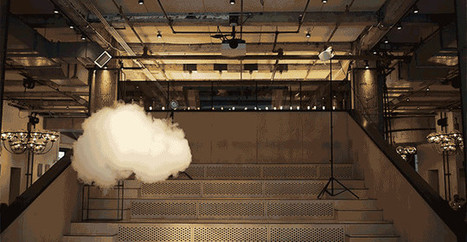 How This Artist Uses a Climate-Controlled Room to Make Indoor Clouds | Strange days indeed... | Scoop.it