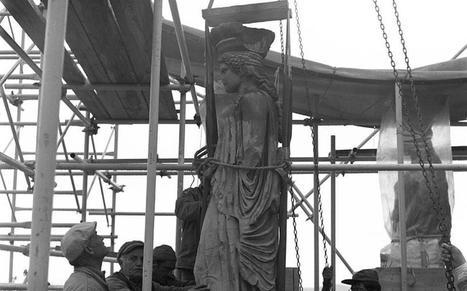Οι αναστηλώσεις του Ερεχθείου σε μια μεγάλη ψηφιακή βιβλιοθήκη, του Σάκη Ιωαννίδη  | Greek Libraries in a New World | Scoop.it