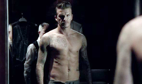 David Beckham goes topless to promote his new fragrance | MCC Panel- Motor Control Center | Scoop.it