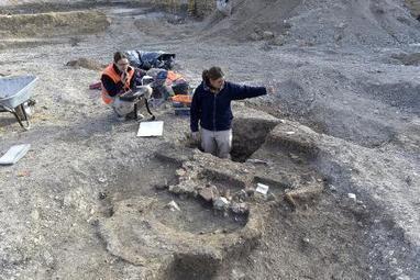 Un four de verrier de l'Antiquité découvert à Reims | Bibliothèque des sciences de l'Antiquité | Scoop.it
