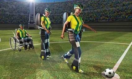 Un exosquelette donnera le coup d'envoi du mondial de foot | Enfance et handicap | Scoop.it