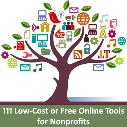 111 Low-Cost or Free Online Tools for Nonprofits | Le mie Terre d'Italia | Scoop.it