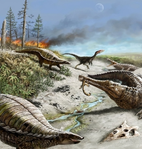Swings between wet and dry conditions confined large dinosaurs to the poles for millions of years | Amazing Science | Scoop.it