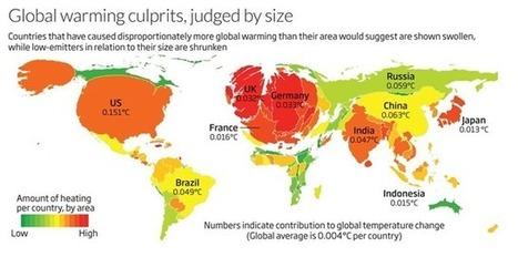 Siete países acumulan el 60% de los efectos del Calentamiento Global - Conciencia Eco | CTMA | Scoop.it