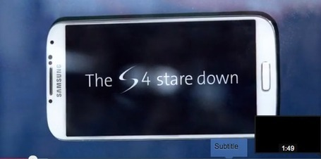 Samsung Galaxy S4 60 Minutes Challenge: Stare It To Win It [VIDEO] - Dazeinfo   Branded Entertainment & Media Study   Scoop.it