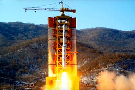North Korea Launches Another Big Clumsy Rocket That Scares The Shit Out Of Its Neighbors   Outbreaks of Futurity   Scoop.it