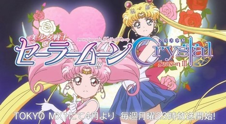 Anime: Sailor Moon Crystal, trailer de la tercera temporada | Noticias Anime [es] | Scoop.it