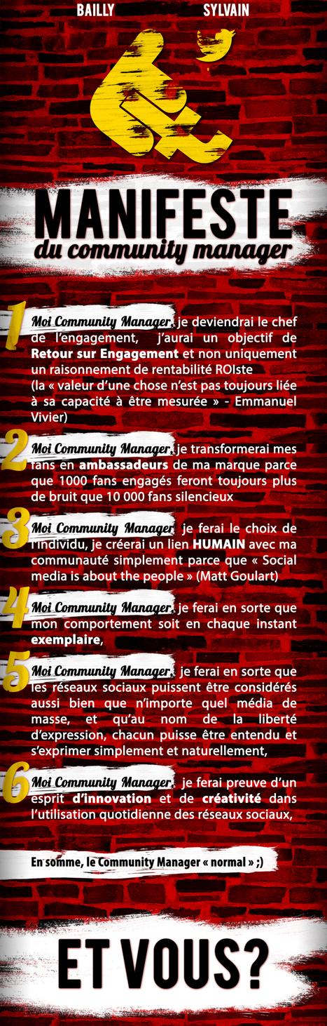 Le manifeste du Community Manager #2012   Community Manager : Partagez le meilleur du web 2.0!   Scoop.it