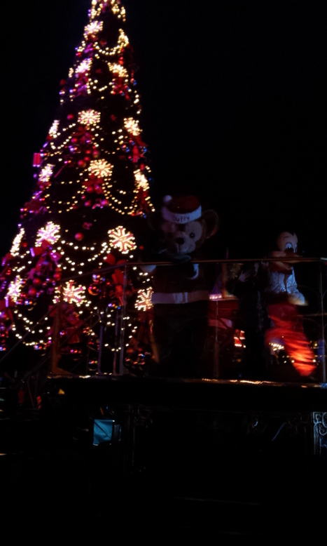 Duffy lights the christmas tree at the soft opening at DLP... on Twitpic   Disneyland Paris   Scoop.it