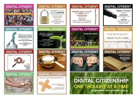 Thinking Digital Citizenship | Edtech PK-12 | Scoop.it