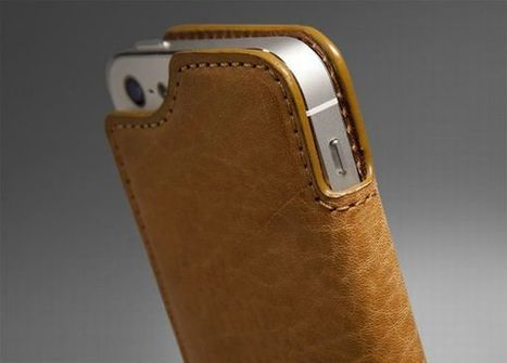 Vaja launches slimmest handmade premium leather case for iPhone 5 | DamnGeeky | DamnGeeky | Scoop.it