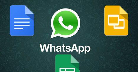 WhatsApp usará Google Docs para enviar archivos Word, Excel y PowerPoint   Redes Sociales   Scoop.it