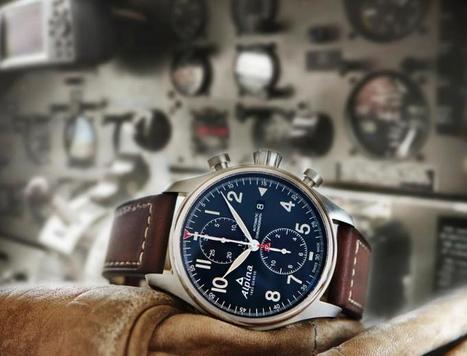 Alpina présente son nouveau chronographe Startimer Pilot Automatique. | La chronique Alpina | Scoop.it