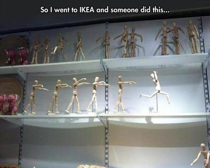 So I went to IKEA   FanPhobia - Celebrities Database   Funny Pics   Scoop.it