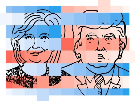 FiveThirtyEight's 2016 Election Forecast is a visualization delight   Big Data - Visual Analytics   Scoop.it