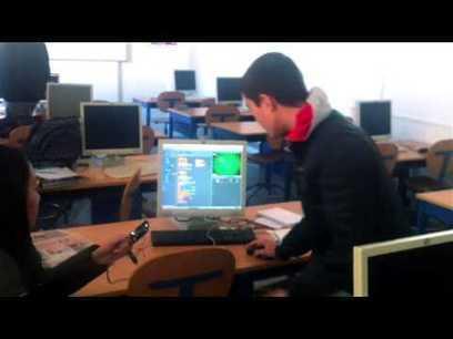 Proyectos con Sensor de distancia y S4A   Programación, Tecnología y Robótica Educativa   Scoop.it