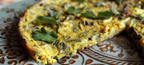 Veggie and Herb Frittata (Egg free, Soy free, Gluten-free) | delphine's recipes | Scoop.it