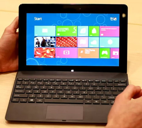 ASUS Windows RT Tablet 600: The First Ever Windows 8 Tablet Is Powered By Nvidia Tegra 3 | Embedded Systems News | Scoop.it