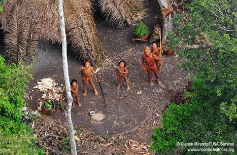 Des photos uniques d'Indiens isolés du Brésil | Aux origines | Scoop.it