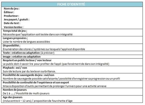 #Critères sélection #applications #4-12 ans | Blog de la Petite Bibliothèque Ronde | Le numerique en secteur jeunesse | Scoop.it