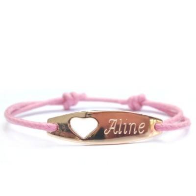 Bijou bébé - le bracelet laque petit cœur ajouré, ravissant ! leplusbeaudescadeaux.fr | Liste de naissance, futures mamans, cadeaux bébés | Scoop.it