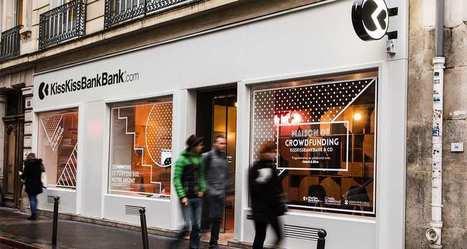 KissKissBankBank inaugure son premier concept store | Le web une coopérative planétaire #collaboratif #ecollab | Scoop.it