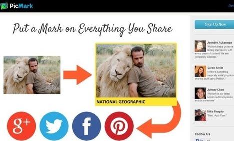 PicMark: coloca una marca de agua fácilmente a tus imágenes | El Content Curator Semanal | Scoop.it