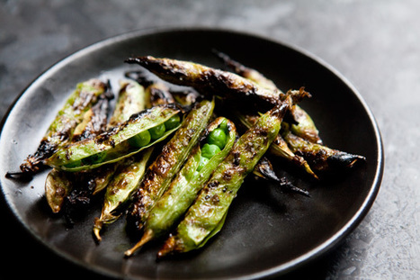 Grilled English Peas | @FoodMeditations Time | Scoop.it