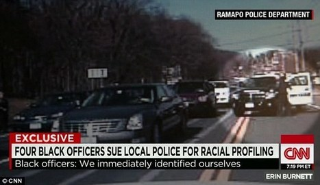 Four Black Officers Held At Gunpoint by Racist Cops Who Assumed They Were Criminals | Upsetment | Scoop.it