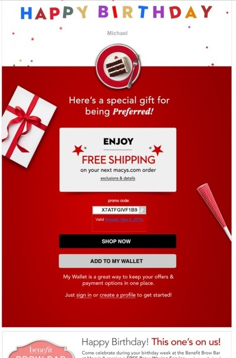 Eight examples of excellent ecommerce emails | ClickZ | Digital Insights | Scoop.it