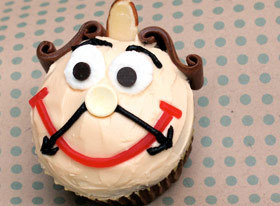 Fun Kids Recipe -- Cogsworth Cupcakes | Food | Disney Baking Recipes | Scoop.it