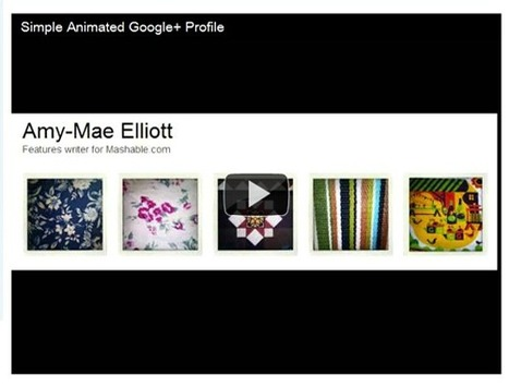 How to Animate Your Google+ Profile   Social Media (network, technology, blog, community, virtual reality, etc...)   Scoop.it