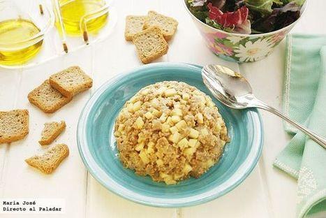 Receta de tartar de atún y manzana verde ácida | Qué se #cocina en la red | Scoop.it