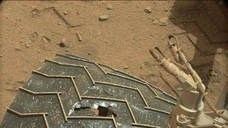 How Wheel Damage Affects Mars Rover Curiosity's Mission | Accelerate | Scoop.it