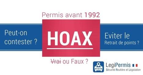 Retrait de point pour un permis d'avant 1992. Info ou intox ? - Blog LegiPermis | Sécurité routière | Scoop.it