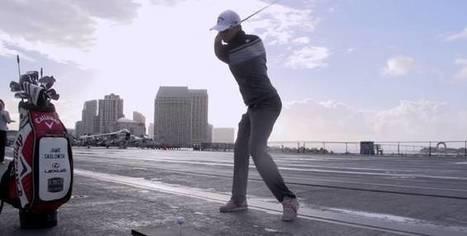 Des tricks de fous en long drive | Golf vidéos | Scoop.it