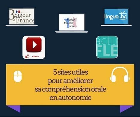 5 sites utiles pour améliorer sa compréhension orale en autonomie   Ressources pour le FLE   Scoop.it