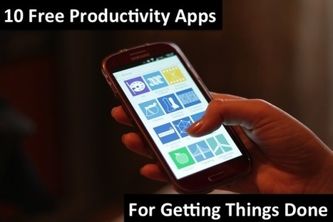 10 Free Productivity Apps for Getting Things Done | Wrike Blog | Productivity Tools | Scoop.it