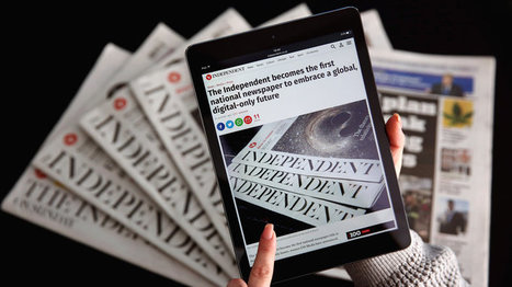 Whither Bridget Jones? Britain's 'Independent' Newspaper Goes Digital | LibraryHints2012 | Scoop.it